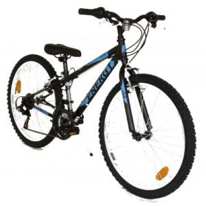 Energy Thunder Μαύρο-Μπλέ 24αρι Παιδικό Ποδήλατο